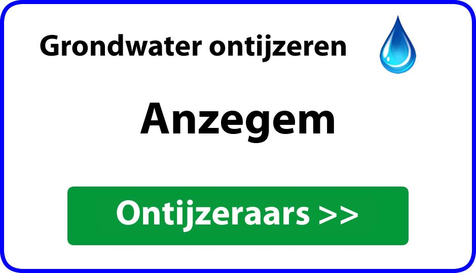 Ontijzeraar ijzer in grondwater Anzegem