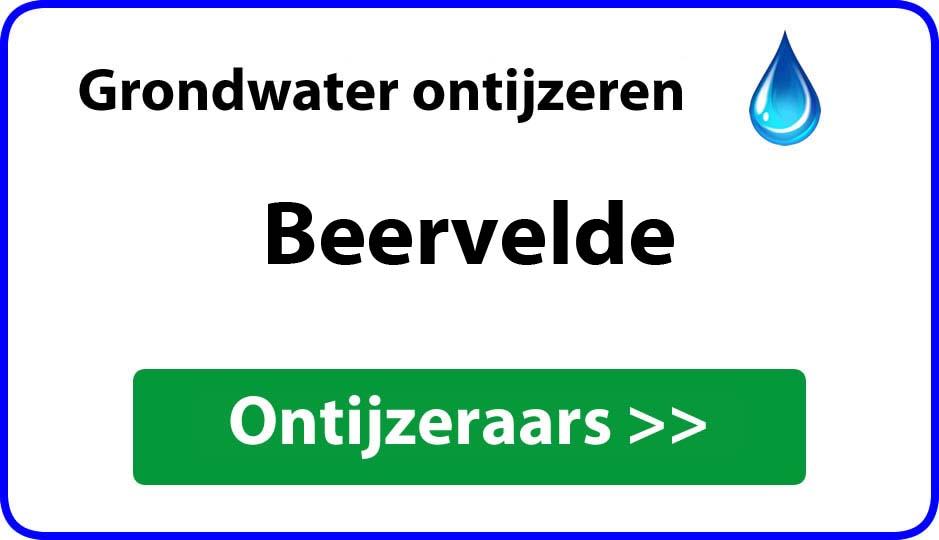 Ontijzeraar ijzer in grondwater Beervelde