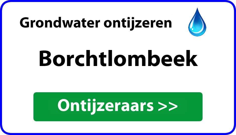 Ontijzeraar ijzer in grondwater Borchtlombeek