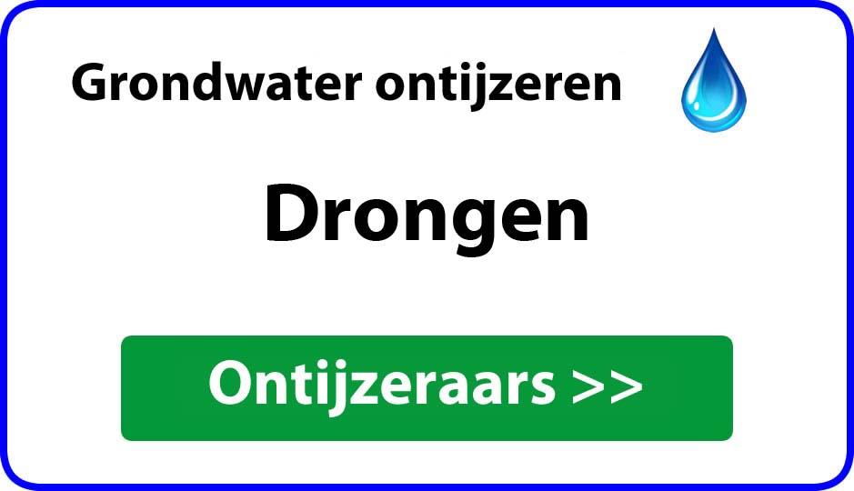 Ontijzeraar ijzer in grondwater Drongen