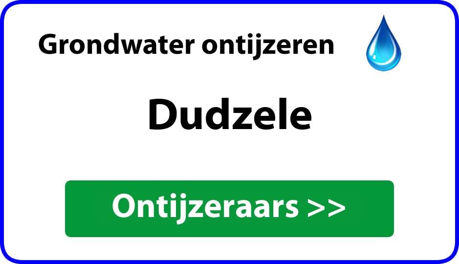 Ontijzeraar ijzer in grondwater Dudzele