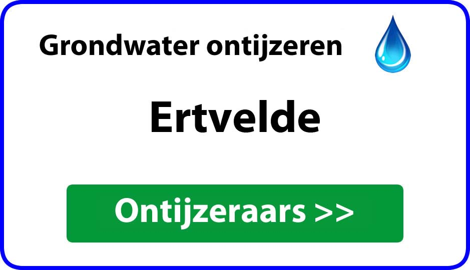 Ontijzeraar ijzer in grondwater Ertvelde