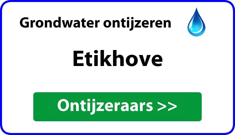 Ontijzeraar ijzer in grondwater Etikhove