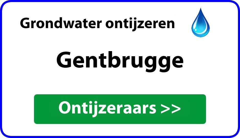 Ontijzeraar ijzer in grondwater Gentbrugge