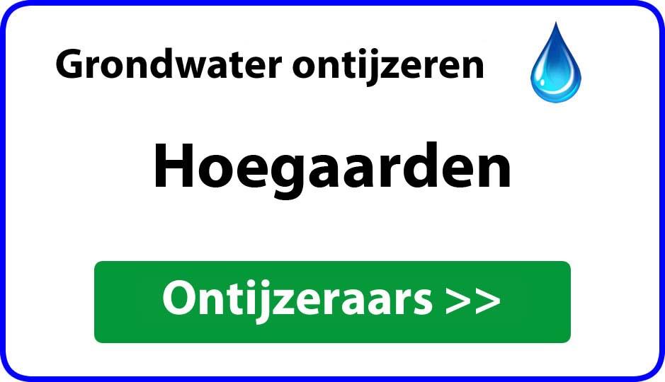 Ontijzeraar ijzer in grondwater Hoegaarden