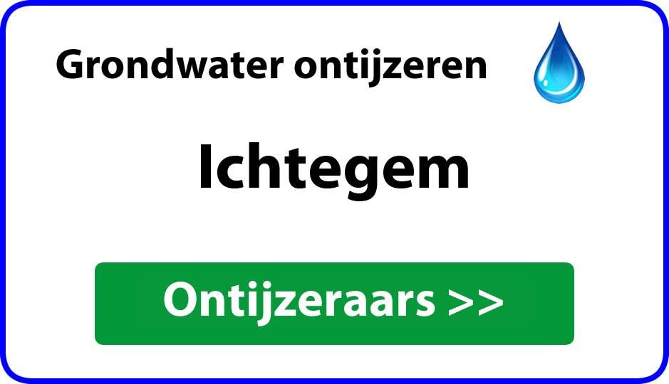 Ontijzeraar ijzer in grondwater Ichtegem