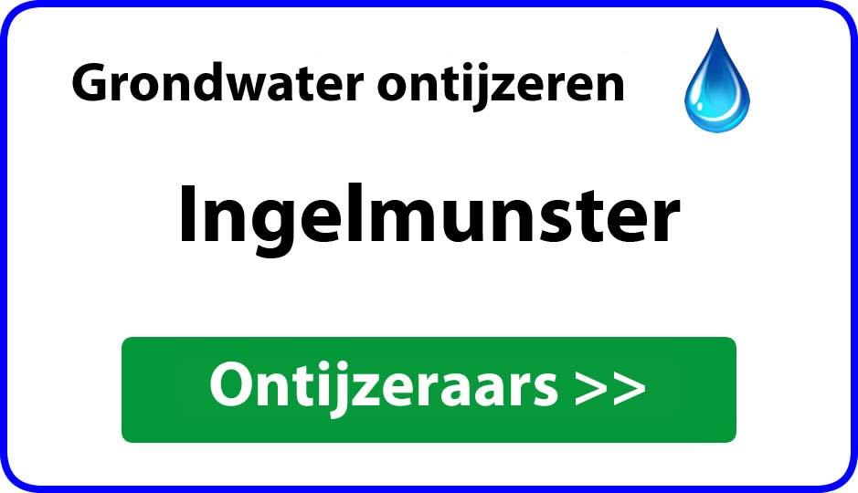 Ontijzeraar ijzer in grondwater Ingelmunster