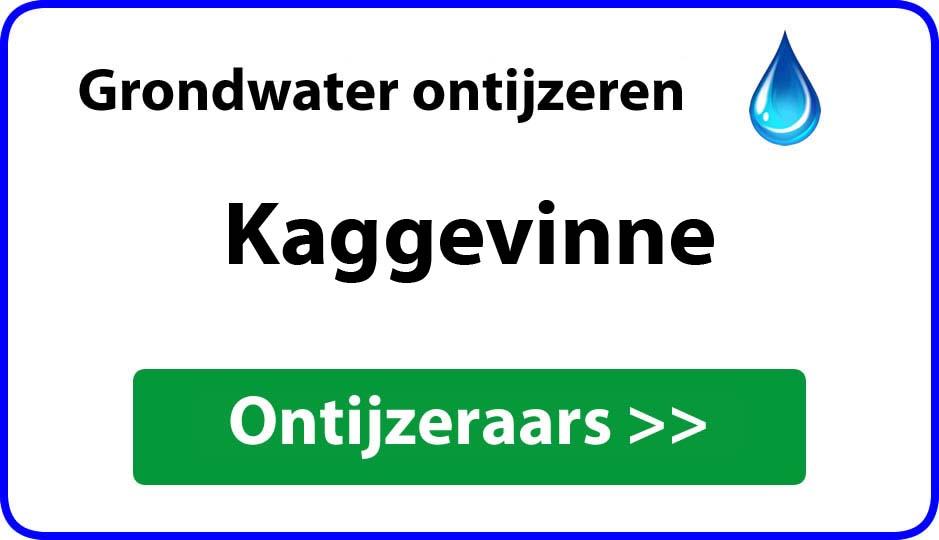 Ontijzeraar ijzer in grondwater Kaggevinne
