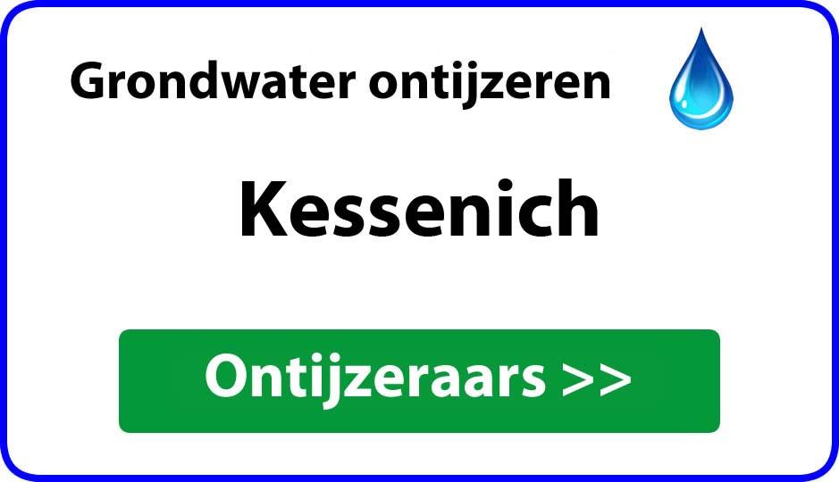 Ontijzeraar ijzer in grondwater Kessenich