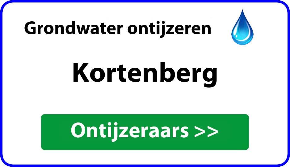 Ontijzeraar ijzer in grondwater Kortenberg