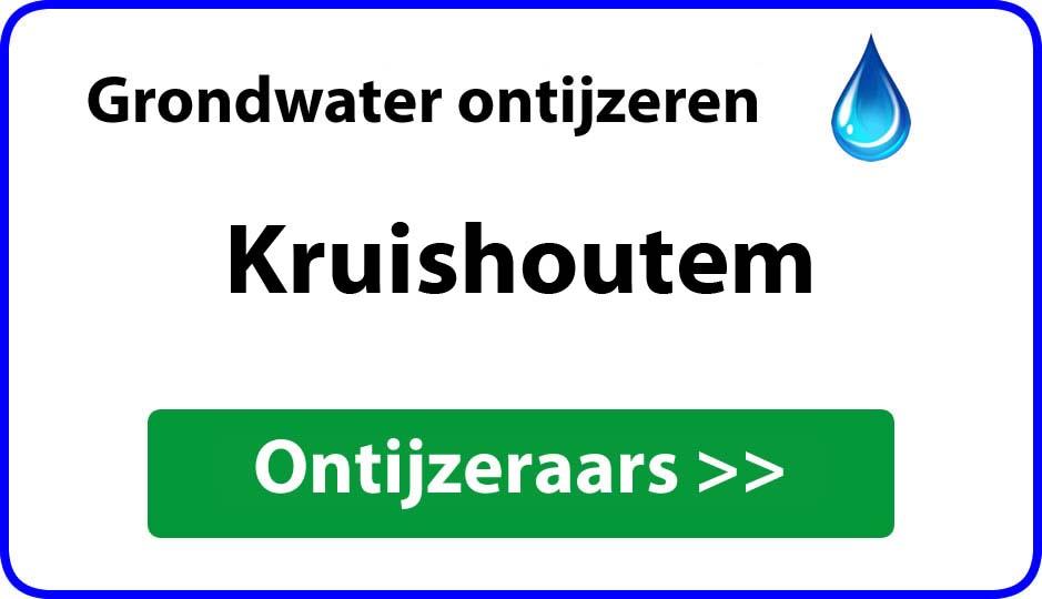 Ontijzeraar ijzer in grondwater Kruishoutem