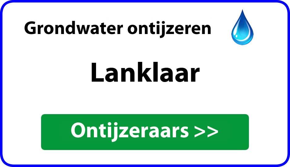 Ontijzeraar ijzer in grondwater Lanklaar