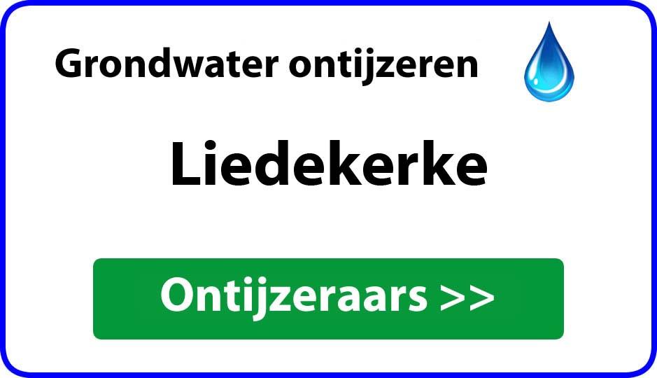Ontijzeraar ijzer in grondwater Liedekerke