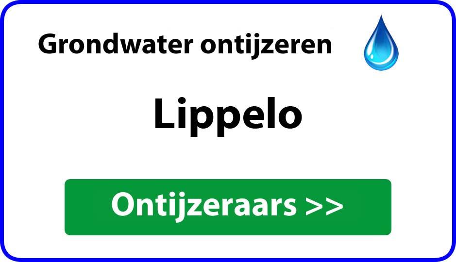 Ontijzeraar ijzer in grondwater Lippelo