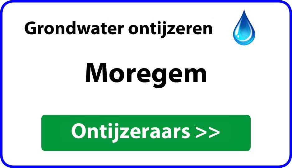 Ontijzeraar ijzer in grondwater Moregem