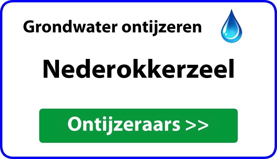 Ontijzeraar ijzer in grondwater Nederokkerzeel