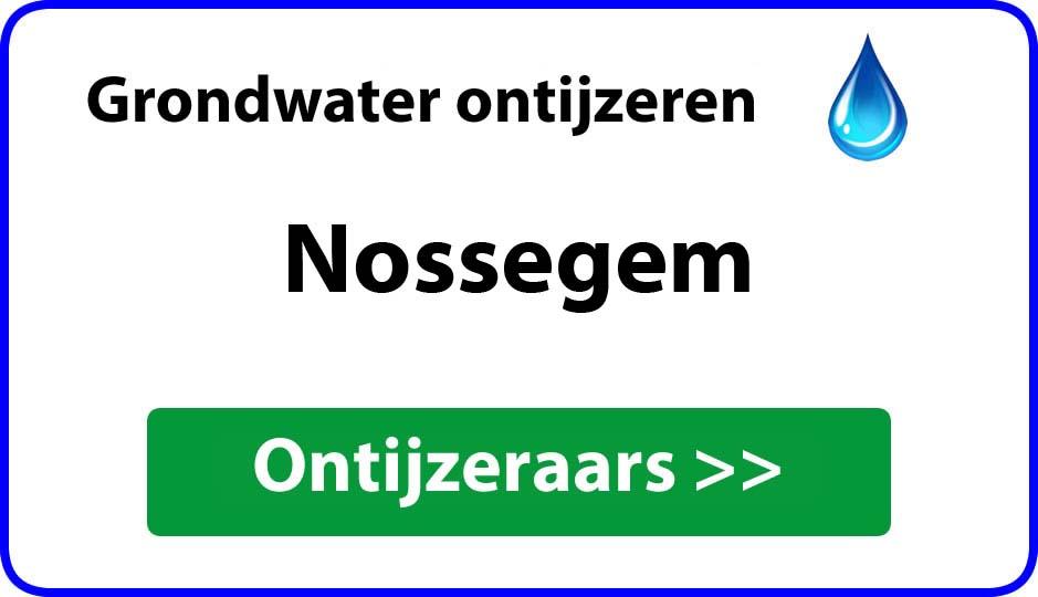Ontijzeraar ijzer in grondwater Nossegem