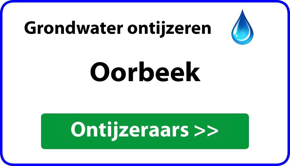 Ontijzeraar ijzer in grondwater Oorbeek