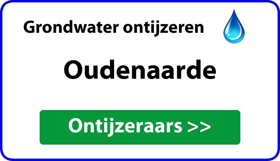 Ontijzeraar ijzer in grondwater Oudenaarde