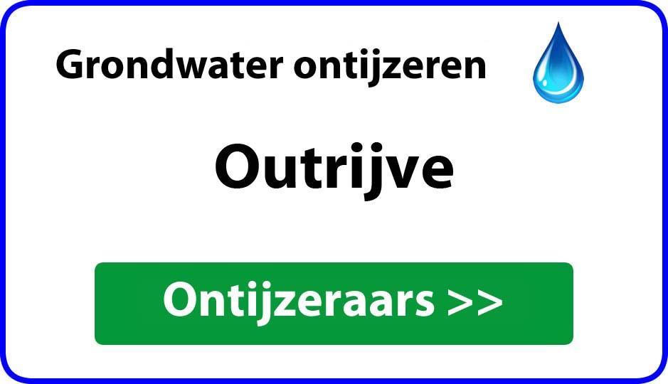 Ontijzeraar ijzer in grondwater Outrijve