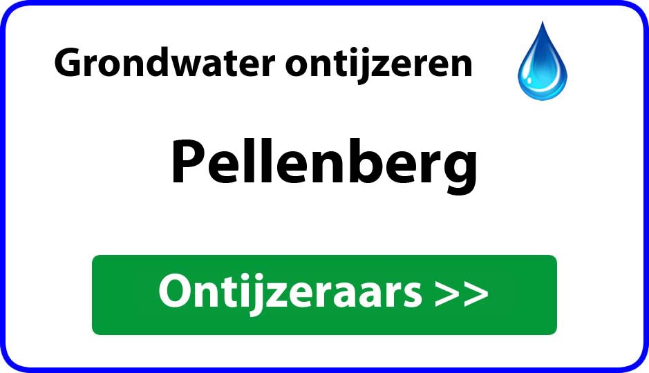 Ontijzeraar ijzer in grondwater Pellenberg