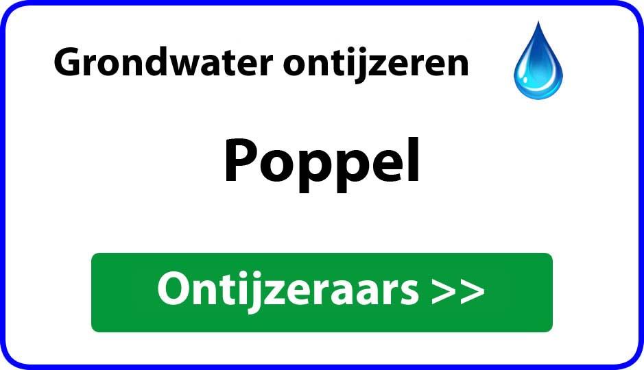 Ontijzeraar ijzer in grondwater Poppel
