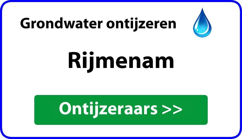 Ontijzeraar ijzer in grondwater Rijmenam