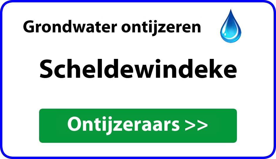 Ontijzeraar ijzer in grondwater Scheldewindeke