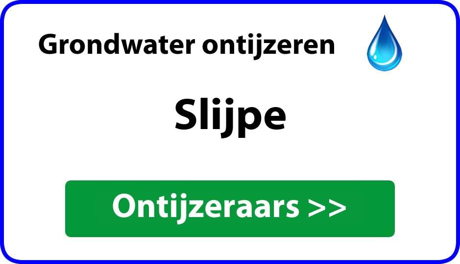 Ontijzeraar ijzer in grondwater Slijpe