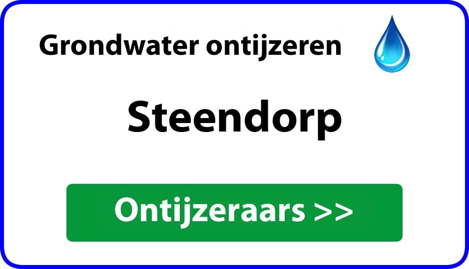 Ontijzeraar ijzer in grondwater Steendorp