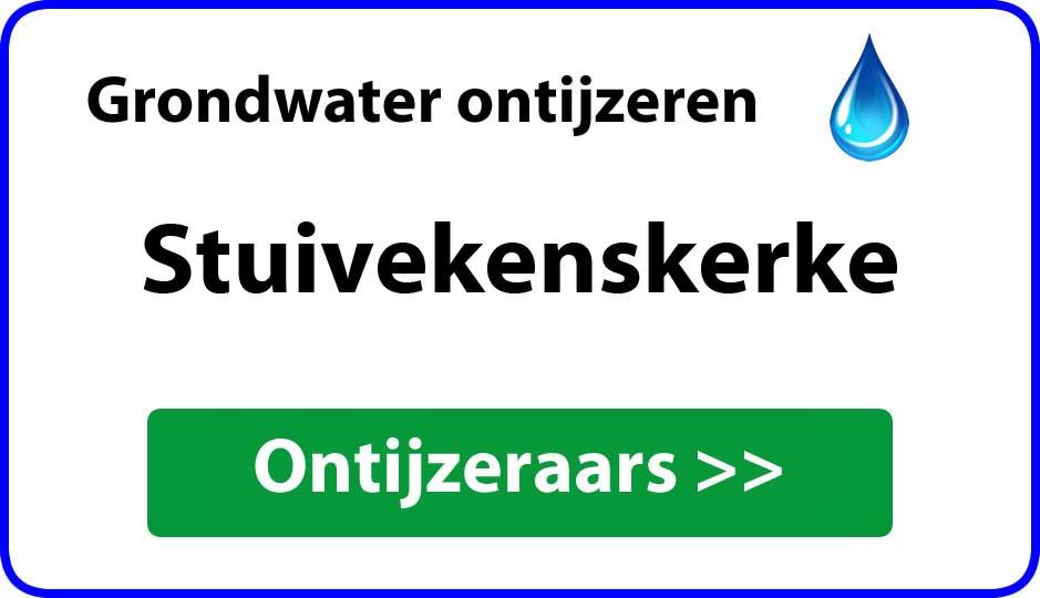 Ontijzeraar ijzer in grondwater Stuivekenskerke
