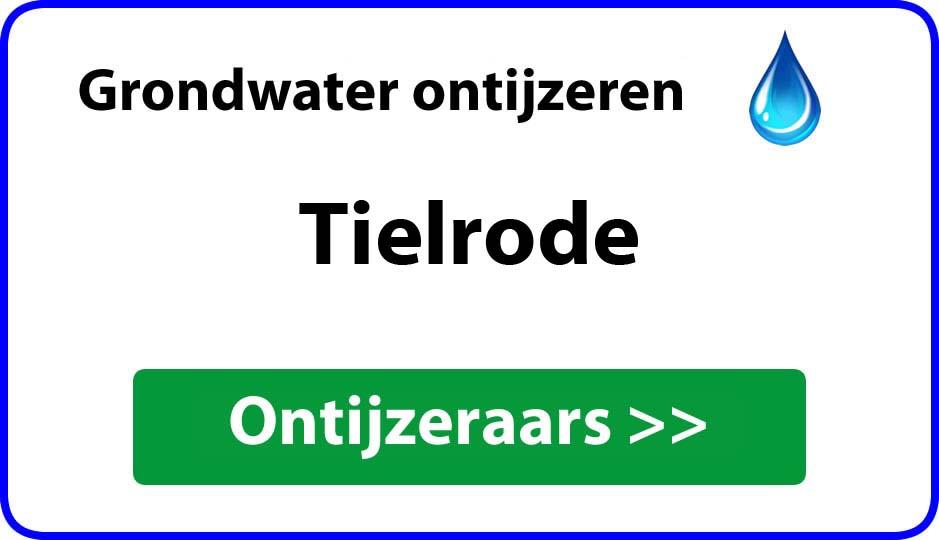 Ontijzeraar ijzer in grondwater Tielrode