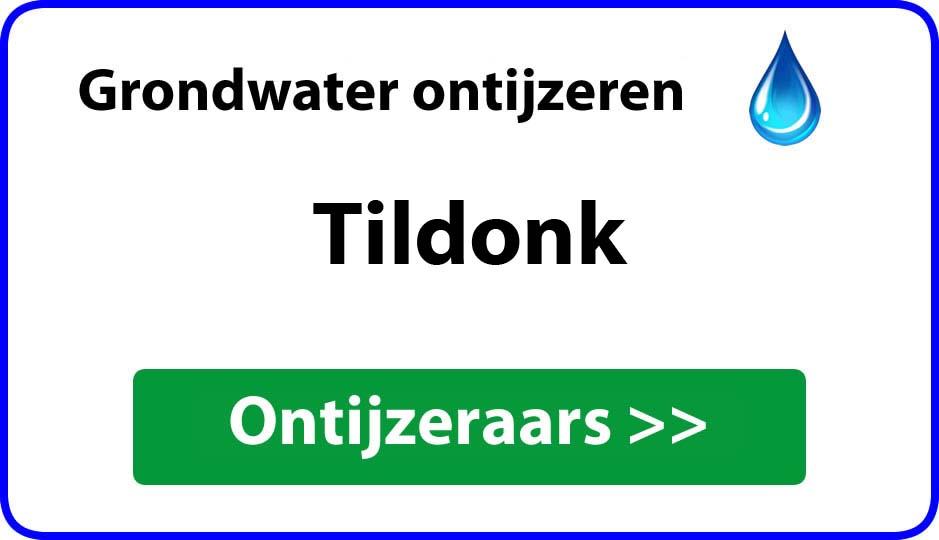 Ontijzeraar ijzer in grondwater Tildonk