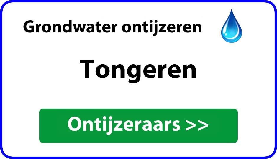 Ontijzeraar ijzer in grondwater Tongeren