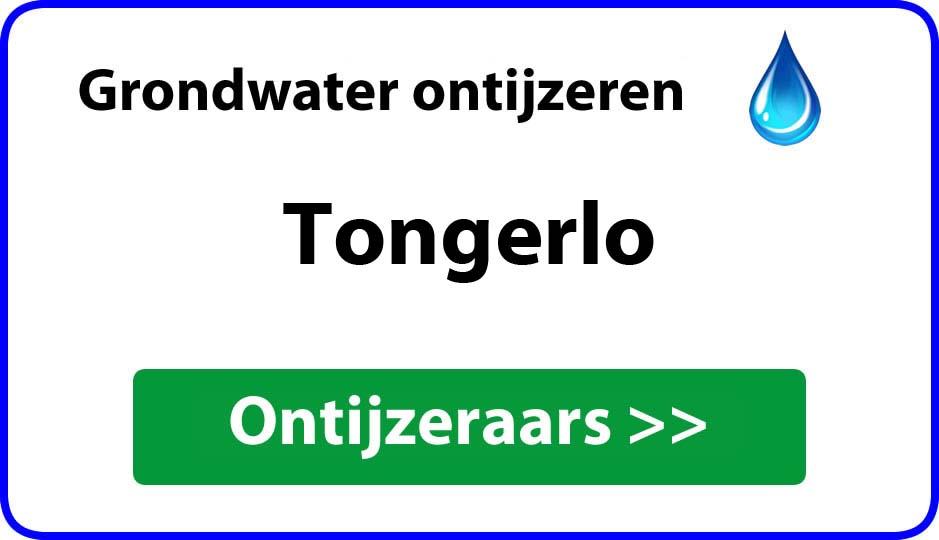 Ontijzeraar ijzer in grondwater Tongerlo