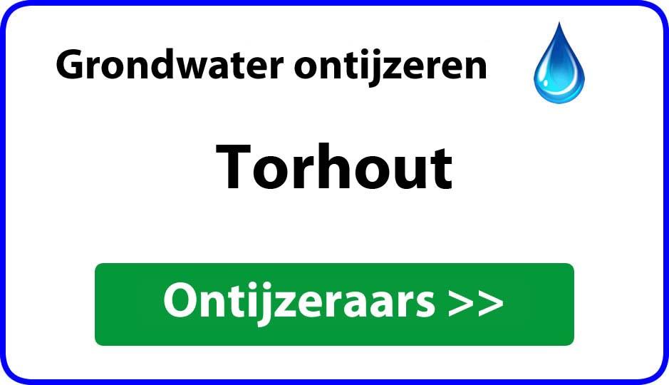 Ontijzeraar ijzer in grondwater Torhout