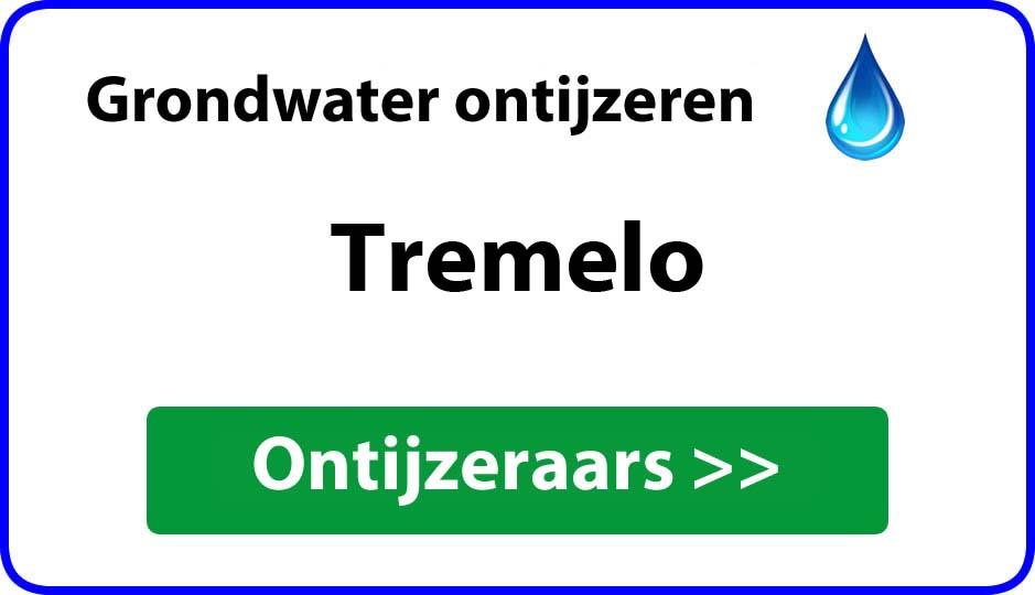 Ontijzeraar ijzer in grondwater Tremelo