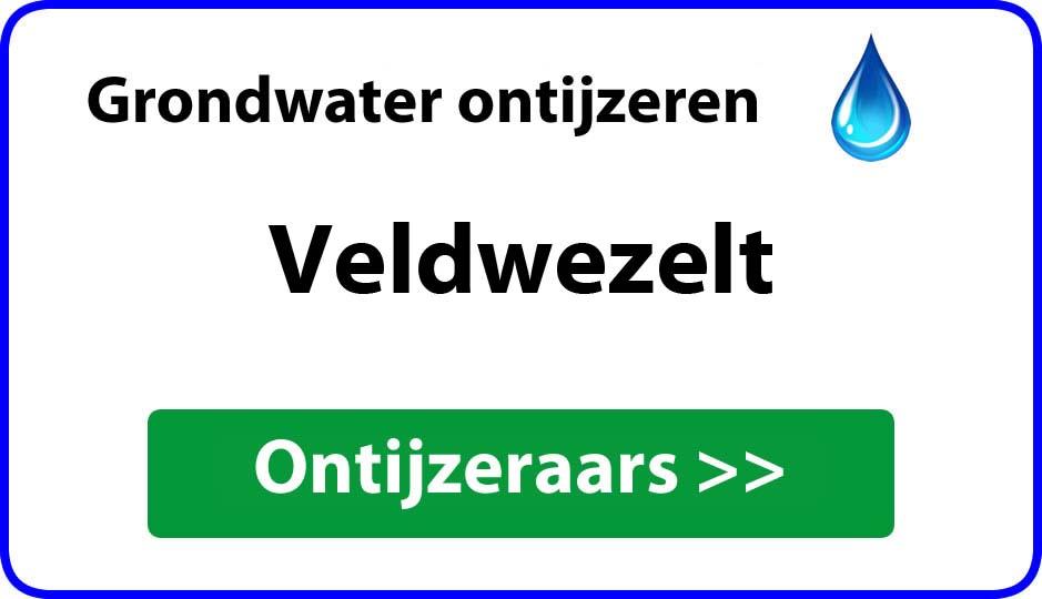 Ontijzeraar ijzer in grondwater Veldwezelt