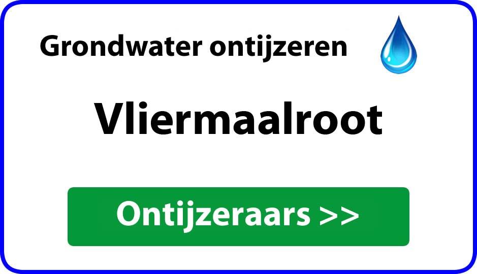 Ontijzeraar ijzer in grondwater Vliermaalroot