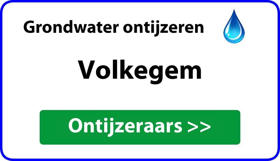 Ontijzeraar ijzer in grondwater Volkegem
