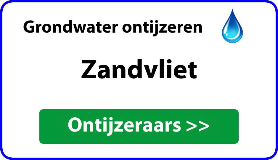Ontijzeraar ijzer in grondwater Zandvliet